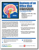 anatomy of an office visit flyer anatomy office